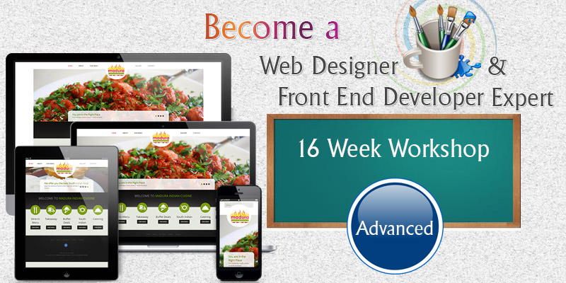 Web Designing Training - Advanced