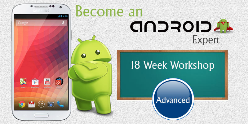 Android Development Training - Advanced